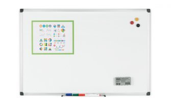 Whiteboard Quantore 120x90cm emaille magnetisch